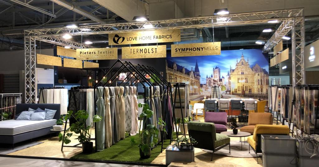 Love Home Fabrics at Warsaw Home Expo